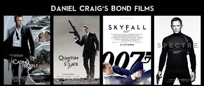 Daniel Craig's James Bond Films