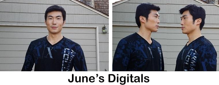 model digitals example june top model