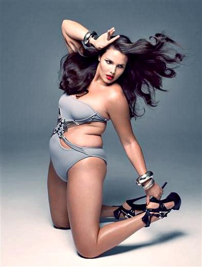 plus size modeling fashion photo shoot sample