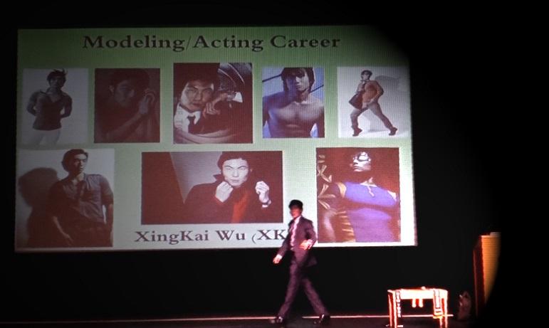 june wu giving modeling seminar