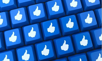 facebook likes keyboard modeling recognition