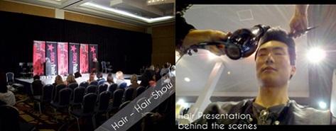 hair modeling show example june top model