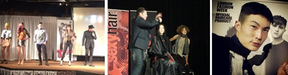 hair show modeling example