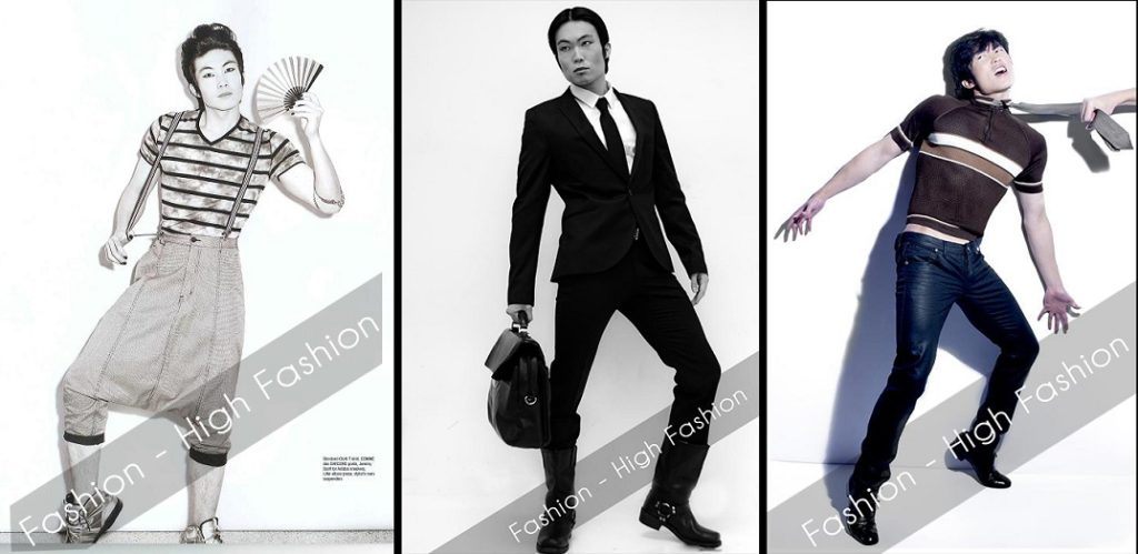 high fashion examples june top model