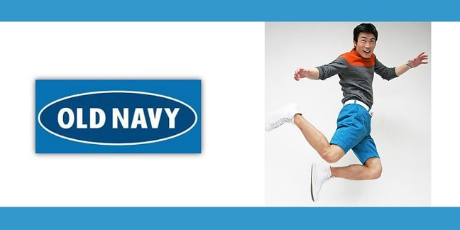 old navy modeling june top model