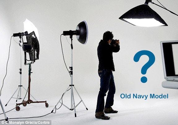 photographer searching for model modeling life studio