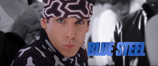 zoolander blue steel look modeling life top male model