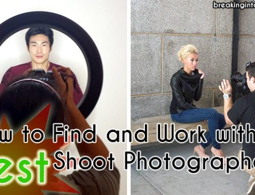 How to Find and Work with Test Shoot Photographers
