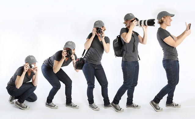 photographer evolution poses breaking into modeling